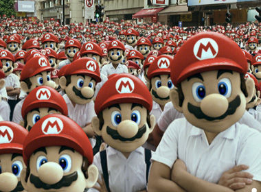 supermariobros:  No, dis-a not creepy at all.