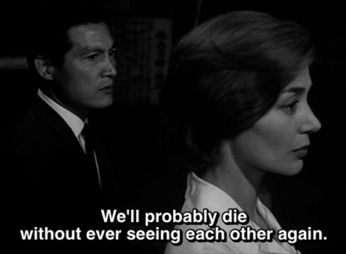 likesbears:   Hiroshima, Mon Amour (1959)  no  Big fear.