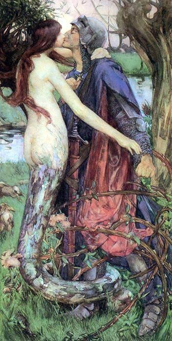 arthistorianmindswirls:  Isobel Lilian Gloag, The Kiss of the Enchantress