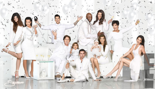 Check out the Kardashian Family's 2012 Christmas card! Click for more!