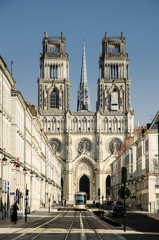 | ♕ |  Ste-Croix Cathedral - Orleans, France | by © pik45
