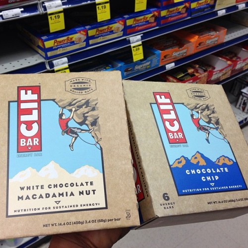 Addicted to cliffs 😋 #cliff #cliffbar #foodporn