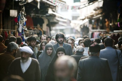 "Argo still a no-go in Iran ""Argo"" may have won acclaim from critics, audiences and now the Academy of Motion Picture Arts and Sciences - but many in Iran remain unimpressed with the film. Set during the turbulent post-revolution era in Iran, the Iranian government was initially provoked by the film for its portrayal of the country, but with time, more Iranians have been able to see the movie and react.  ""I am secular, atheist and not pro-regime but I think the film 'Argo' has distorted history and insulted Iranians,"" said Hossain, a cafe owner worried about business because of customers' lack of cash in a sanctions-battered economy. ""For me, it wasn't even a good thriller.""  And further reaction from the ground in Iran:  ""I did not enjoy seeing my fellow countrymen and women insulted,"" said Farzaneh Haji, an educated homemaker and fan of romantic movies who was 18 at the time of the revolution. ""The men then were not all bearded and fanatical. To be anti-American was a fashionable idea among young people across the board. Even non-bearded and U.S.-educated men and women were against American imperialism.""   Photo: Keith Bernstein / Warner Bros"