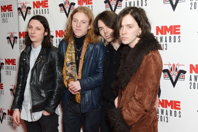 Peace at the NME Awards 2013