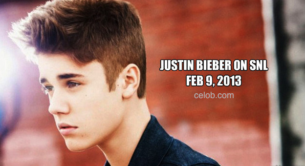 Justin Bieber is going to be on Saturday Night Live (SNL) on Feb 9th, 2012. Make sure you watch it.