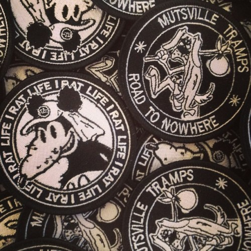 #PATCHES now available at www.thestumblersinc.bigcartel.com Get em while ya can ,limited numbers! TELL YA FRIENDS! #thestumblersinc #zines #zine