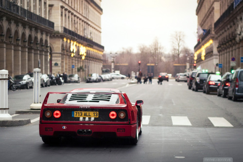 Ferrari F40  Image by Mathieu Bonnevie