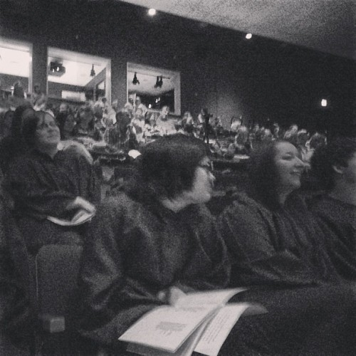 Day 138, compiled a #poem and read at #tmhs #baccalaureate! Congrats grads! 🎓🎉 Thanks for inviting me to read! #createdaily #spokenword #poetryonthefly #hopecollection