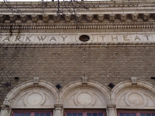 Frieze of Parkway Theater, 2012