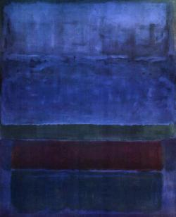 lecollecteur:Mark Rothko, Blue Green and Brown, 1951