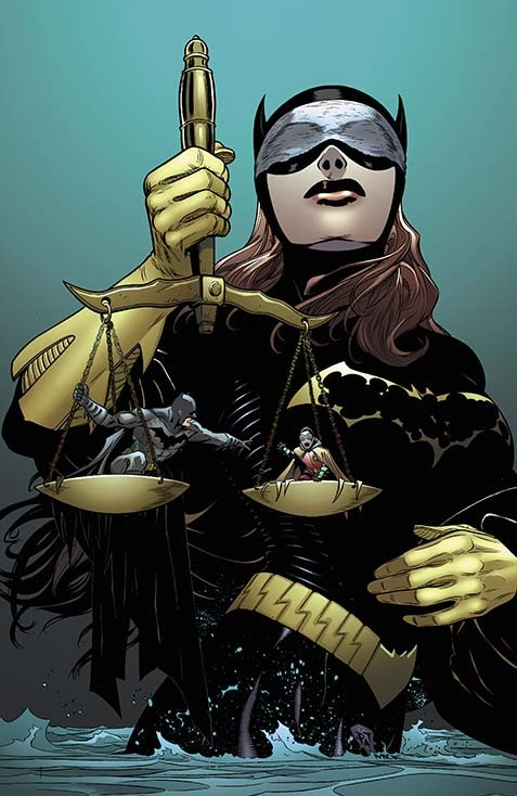 Cover for Batman and Batgirl #21, art by Patrick Gleason