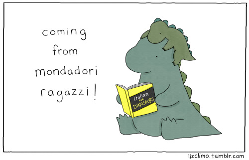 lizclimo:  Guess what! I'm happy to announce that Italian publisher Mondadori Ragazzi will be publishing Rory's picture book for the Italian world market- which means you can buy it in Italy and read it in Italian if you'd like! Magnifico! The English version of the book will be available in Spring 2015 from Little, Brown.