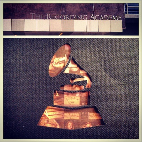 We learned so much about @TheGrammys on our Cashmere excursion today. Thanks for having us! #TheRecordingAcademy (at The Recording Academy)