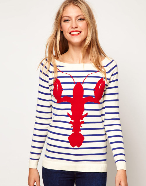prepfection:  Just ordered this Striped Lobster Sweater ($50 at ASOS) and I'm already impatient for it to arrive.