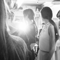 #kaviargauche #fashion #pfw #paris #backstage #fashionweek #fw13