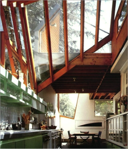 justthedesign:  Kitchen At The Gehry Residence By Frank Gehry