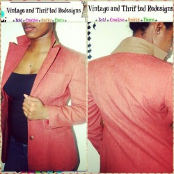 Rose colored Blazer leaves DASHA'VERI $10 w/ 35% Off until Saturday for GTD fans. Love it like I did doll!  https://www.Dashaveri.storenvy.com #thriftstorejunkie #thrifted #vintage #thriftstore #DashAveri #style #fashion #rose #blazer #wool #suede #RVA #online #shop #curvy #chic #fyourstyle #fierce #model #instafash #instagood  (at DASHA'VERI Vintage & Thrifted Redesigns)
