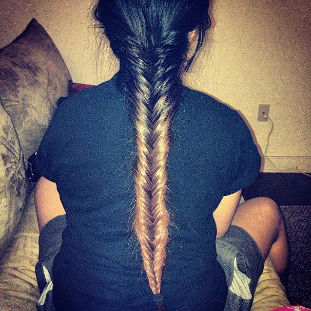 Love this fishtail braid!