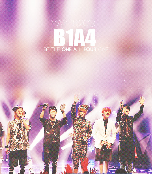 fly high B1A4- #B1A41STWIN