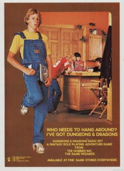 I played D&D before it was cool….
