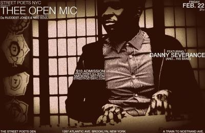 REVIVAL Brooklyn family, Street Poets NYC present THEE OPEN MIC on February 22. Enjoy. And share… a poem… a song… a piece of yourself. -JADE