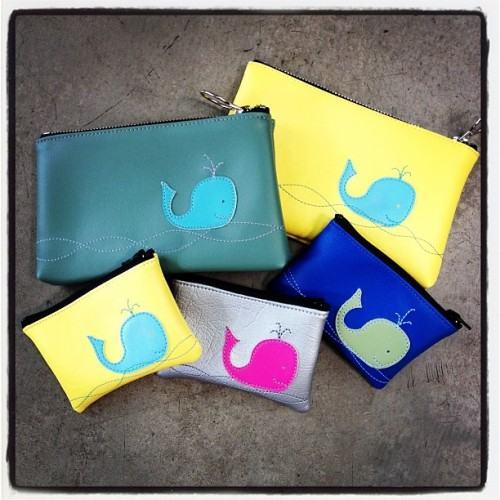 Check out our adorable whale coin and justin cases, part of our new 'Clean Oceans Campaign'!