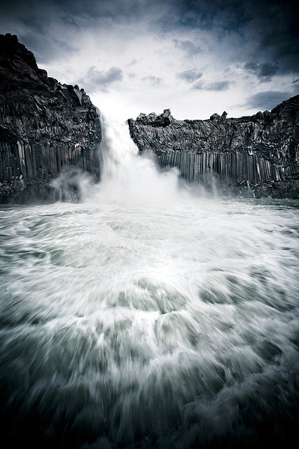 bathorynordland:  Aldeyjarfoss (3) by oskarpall on Flickr.