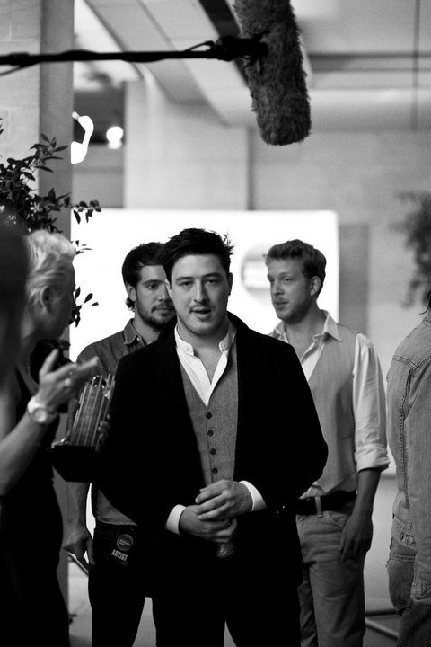 Marcus Mumford of Mumford & Sons Photo By Steve Glashier