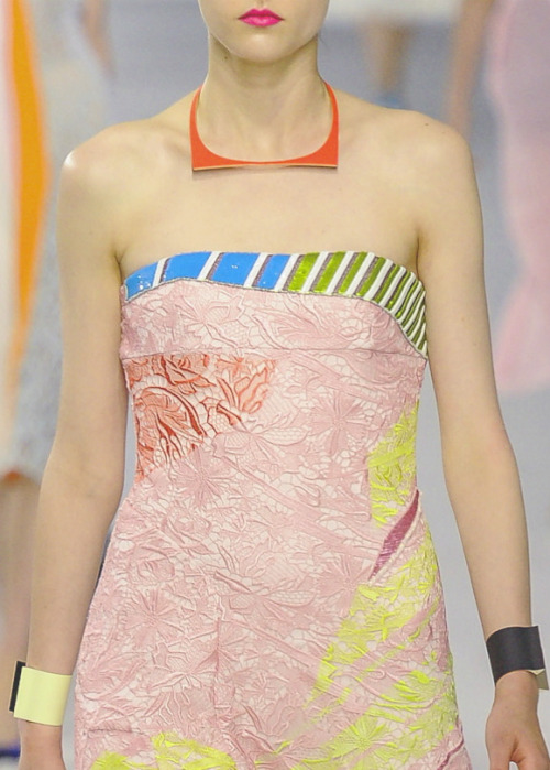 sfilate:  Christian Dior Cruise 2014 Detail