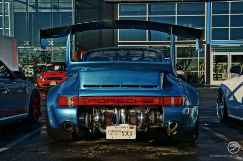 carpr0n:  Voodoo child Starring: Bisimoto Turbo Porsche 930 (by I am Ted7)  :o