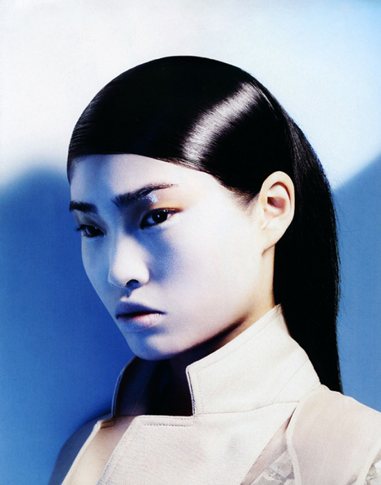 Stephanie Shiu by Lachlan Bailey for Vogue China, July 2007