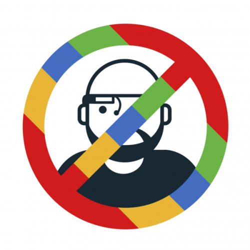"new-aesthetic:  ""Stop The Cyborgs' was founded in response to the Google Glass project and other technology trends. The aim of the movement is to stop a future in which privacy is impossible and corporate control total."" About 