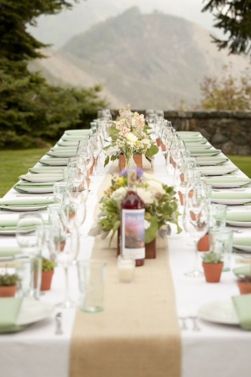 themeanalysis:  outdoor wedding
