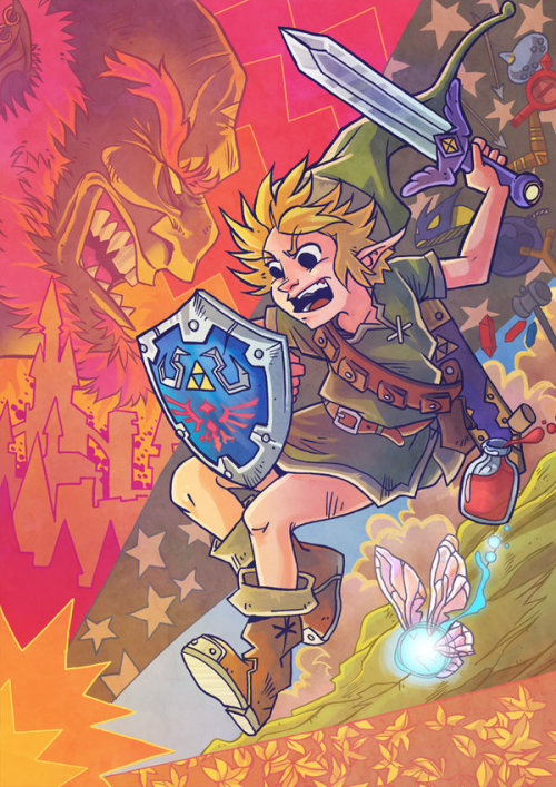 theawkwardgamer:  +Link+ by Yo-tan