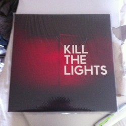 New #houseofblacklanterns vinyl! #killthelights. Thank you #houndstooth and hobl