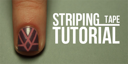 thenailasaurus:  Striping Tape Tutorial