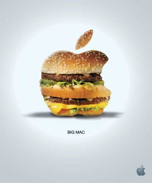 clock510:  Advertising Parody By Myounis – LV Toilet Paper, Apple Big Mac and More » Design You Trust – Design Blog and Community