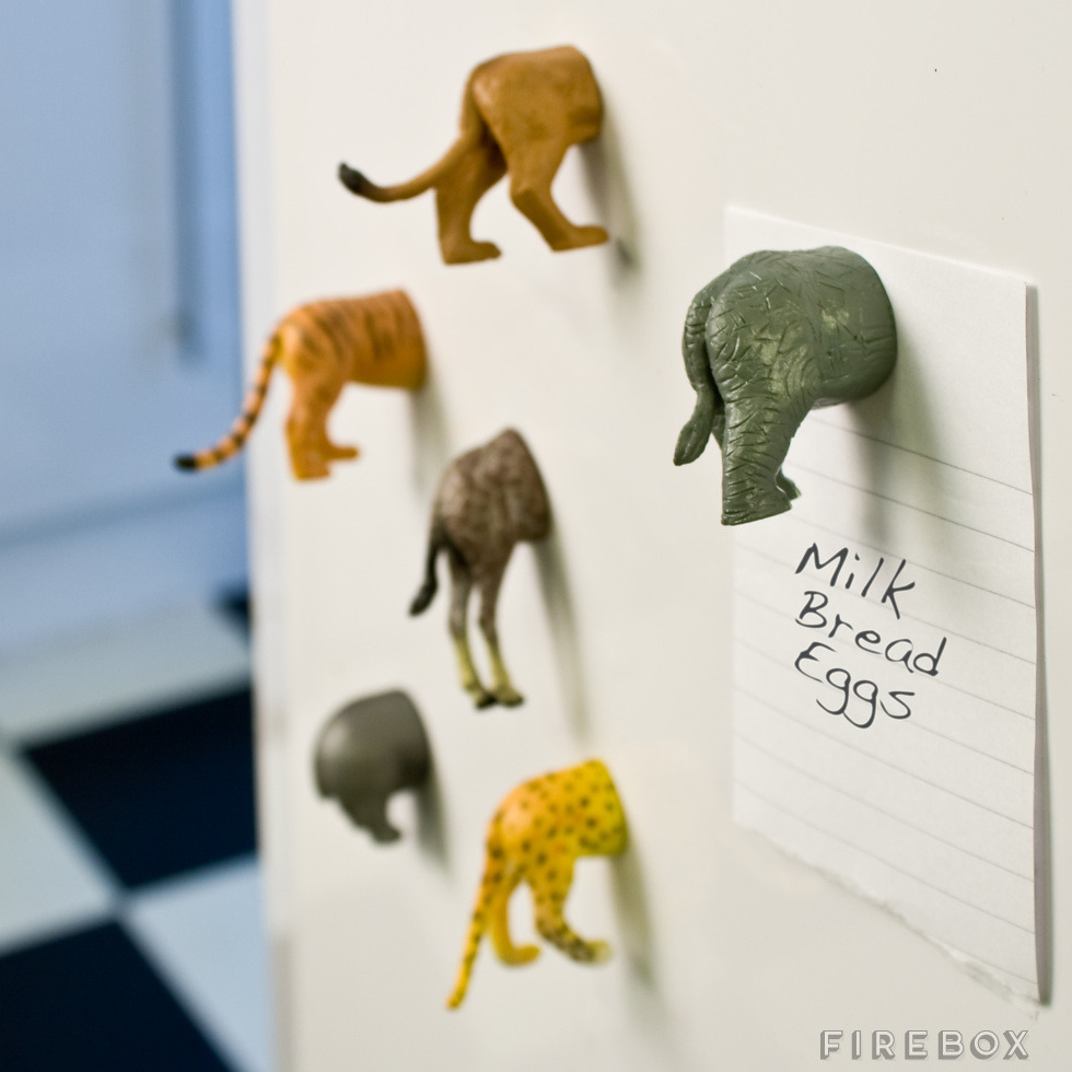 jaymug:  Animal Butt Magnets