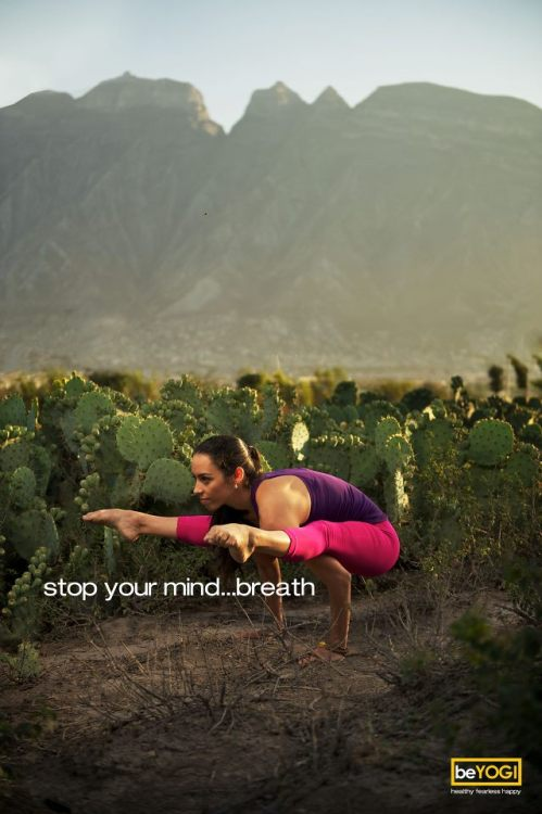 stop your mind… breath