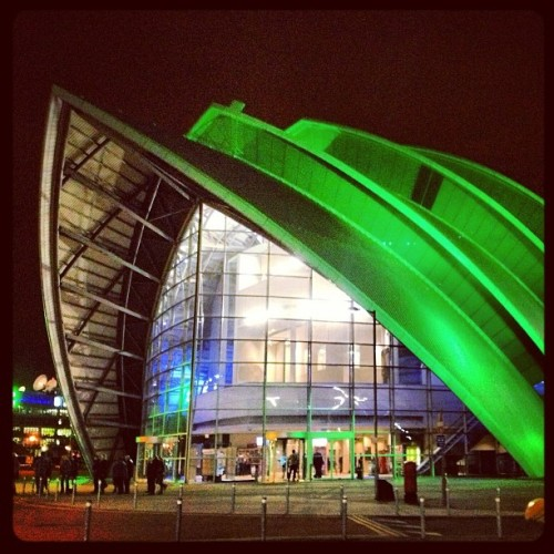 Pretty places! #glasgow #scotland #secc #green #colour #arena #architecture #boat #sails