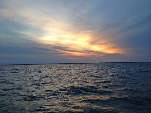 invisibletoawhitetail:  Love being out on the water