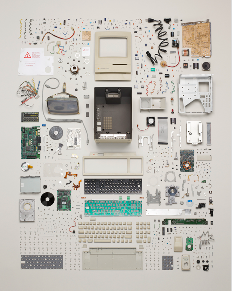 'Things Come Apart' Todd McLellan's impressive project dealing with what boys do best - pulling things apart.