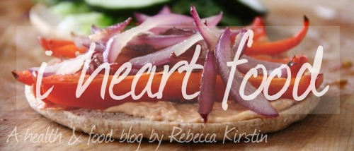 Welcome to I Heart Food, a health & food blog dedicated to recipes that are delicious and easy to make, and health and fitness tips that apply to everyday life