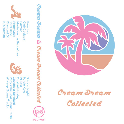 Cream Dream is Teddy Ouwerkerk, a Long Island based designer and producer with a flair for combining disco, soul, and funk circa 1970 with house and contemporary beat-making. Cream Dream: Collected gathers his first three self-released EPs, issued prior to the release of his free-to-download debut album Love Letter; the Paradiso and Total Babe EPs, as well as his mixtape Spliffy Beats vol. 1 and two muggy bonus tracks from the same period. It's the first such compilation of his prior work, but it turned out too well and the tape's way too good looking for it to be our last. Pick up a copy from our bandcamp page.