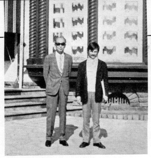 Kurosawa x Tarkovsky: cool buddies.
