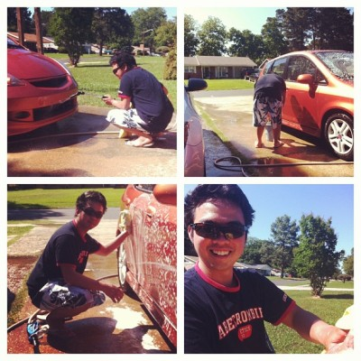 SHIFT'S sexiest car washer lol @mickozsky_11 @creyesification @maxers06  @skipfrs90