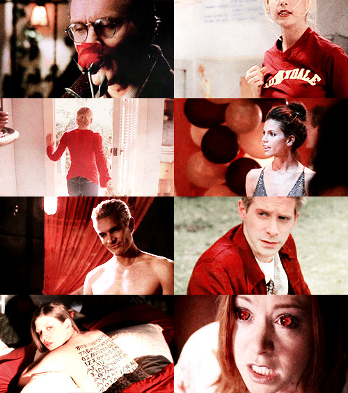ladyarlawyn:  color meme - buffy the vampire slayer + red