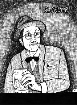 A Robert Crumb portrait that I did years ago.