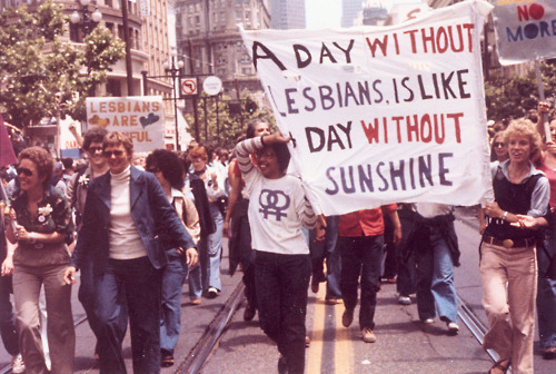 a day without lesbians is like a day without sunshine
