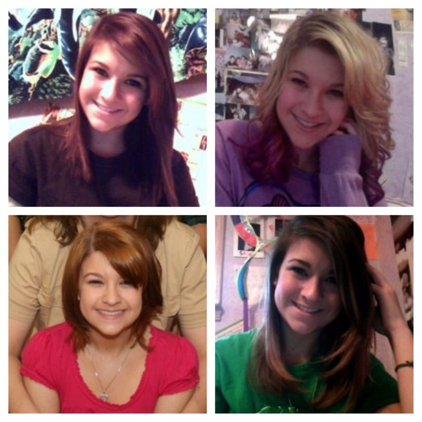 I've had just about every hair color #orange #blonde #purple #brown #black #ombre
